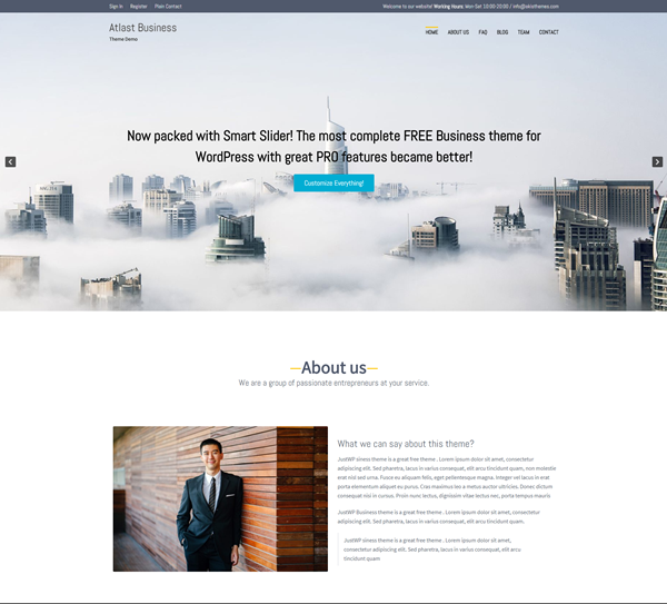Atlast Business WordPress Theme