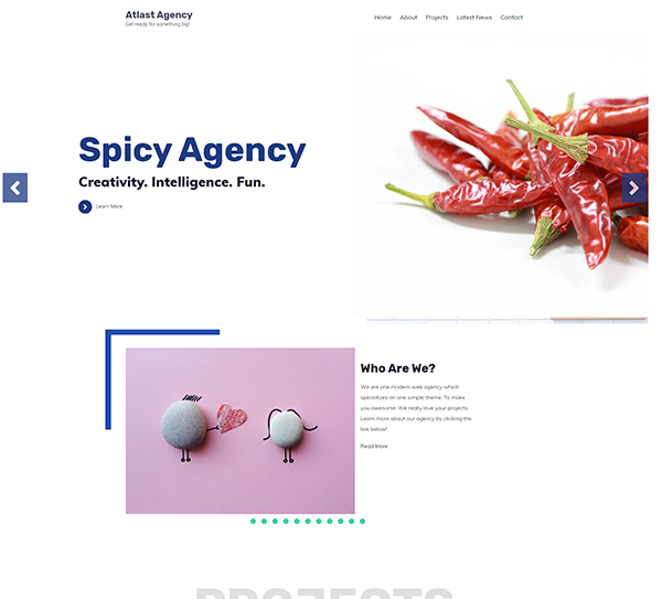 Atlast Agency WordPress Theme